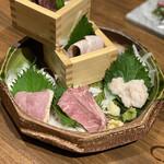 名古屋 名駅 肉寿司 - お肉達の宴