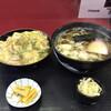 権八 - 料理写真:●ミニ丼セット ・親子丼  ・かけうどん ¥950税込