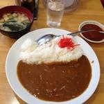 大沢食堂 - カレーライス中辛+一口激辛(2012.5)