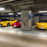 Tenkai - 謎に高級車だらけの駐車場。