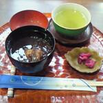 アートカフェ栄 - おぜんざい(冬季限定)