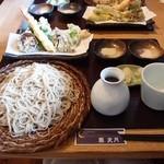 蕎 友月 - 上天ざる(十割そば)