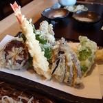 蕎 友月 - 天ぷら
