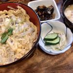 桔梗家 - お昼のランチC 柳川丼(骨抜き)1,200円