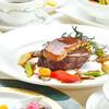 レストラン フォンターナ - 料理写真:ステーキディナー