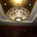 中国料理 「唐宮」  - 唐宮の個室のシャンデリア
