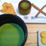 茶庭 然花抄院 - 茶庭の膳