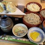 乃しろ庵 - 料理写真:三種盛り