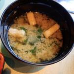 田むら銀かつ亭 - 味噌汁