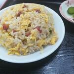 満洲園 - ミニ炒飯