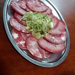焼肉 永楽 - 料理写真:ねぎ塩タン