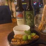 LEAFⅡ - ♦︎日本ビール有機農法  ¥850 ♦︎みやじ豚のソーセージ ¥850 ※夜メニュー(16:00〜20:30)
