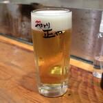 やきとり 正や - 熟撰生ビール