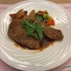 プラザ洞津 - 料理写真:月替ランチ:牛ロース肉のカツレツ デミグラスソース
