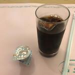 プラザ洞津 - 月替ランチ:アイスコーヒー