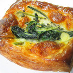 フリアンディーズ - ほうれん草とチーズのデニッシュ