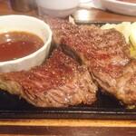 KITORA STEAK&SEAFOOD - 黒毛和牛リブステーキ(150g)