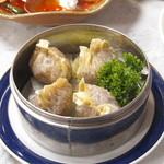 広東料理陽香園 - ふかひれ入り蒸し餃子