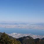 比叡山峰道レストラン - 外観写真:展望台からのびわ湖の眺望