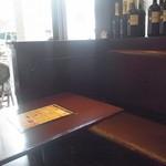 13568517 - 店内にはテーブル席のほか、立ち飲みスペースも