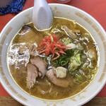 一龍 - 中華麺 ニンニクトッピング 850円