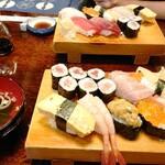 満寿鮨 - お寿司二人分
