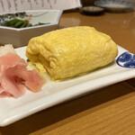 135685957 - この太っちょな、だし巻き卵が280円っっっヽ(*^ω^*)ノ大好きなガリと大根おろしもついてます♡
