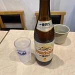 ぶっかけ亭本舗 ふるいち - ビンビールは麒麟。