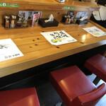 甲殻堂 - テーブル配置