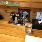 甲殻堂 - テーブルセット