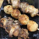 焼き鳥野島 - 豚軟骨 つくね 地鶏