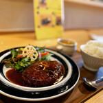 135694520 - ハンバーグ定食 950円(税込)