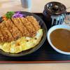 黒んぼ食堂 - 料理写真:ロースカツカレー。