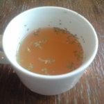 Indy Room Cafe - ハンバーガーsetのスープ