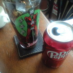 Indy Room Cafe - 別注文のDr.pepper