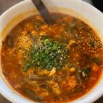 焼肉ここから - テグタンスープ 3辛