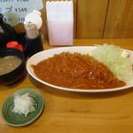 とんかつ 澤樹 - 料理写真:ハヤシかつめし定食