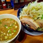 太一商店 - つけ麺+肉増し
