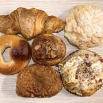 山梨パン工房 モンマーロ - 今回買ったパン