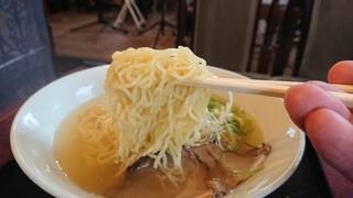 麺カフェオール - 麺アップ
