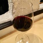 オステリア アルコバレーノ - ブレンディジリゼルバ赤グラス@880円