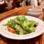 ラシーヌ - 【ビストロ ランチ@2,540円】契約農家からの直送野菜
