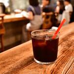 ラシーヌ - 【ビストロ ランチ@2,540円】アイスコーヒー