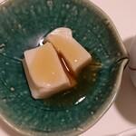 蔵王山麓あずきや - ゴマ豆腐
