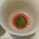 蔵王山麓あずきや - トマトのマリネ