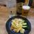 池田屋 - 料理写真:シークワーサーチューハイとサッポロラガー、ポテトサラダ