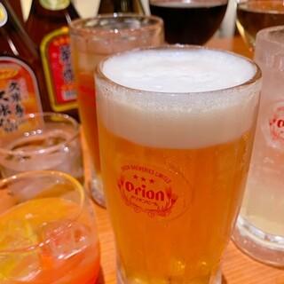 飲み放題あり〼!お一人様二時間¥2,200(税込)