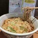 川村屋 - 天ぷらそば 390円