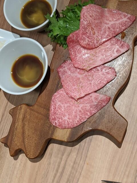 溶岩焼肉 フジビーフの料理の写真