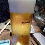 13572094 - 冷え冷えビール